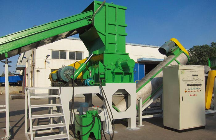 waste film recycling line